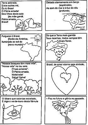 Hino Nacional Brasileiro Ilustrado 02