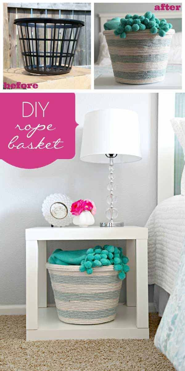 Want to spruce up your #home #decor? Check these 34 fantastic #DIY projects. Which one is your favorite?