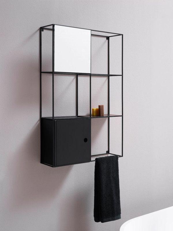 Felt, a series of modular wall shelves