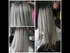 Aprende cómo hacer Mechas Platinadas Paso a Paso en tu casa decolorando y luego con un tinte que sea el adecuado de acuerdo a tu color de pelo.