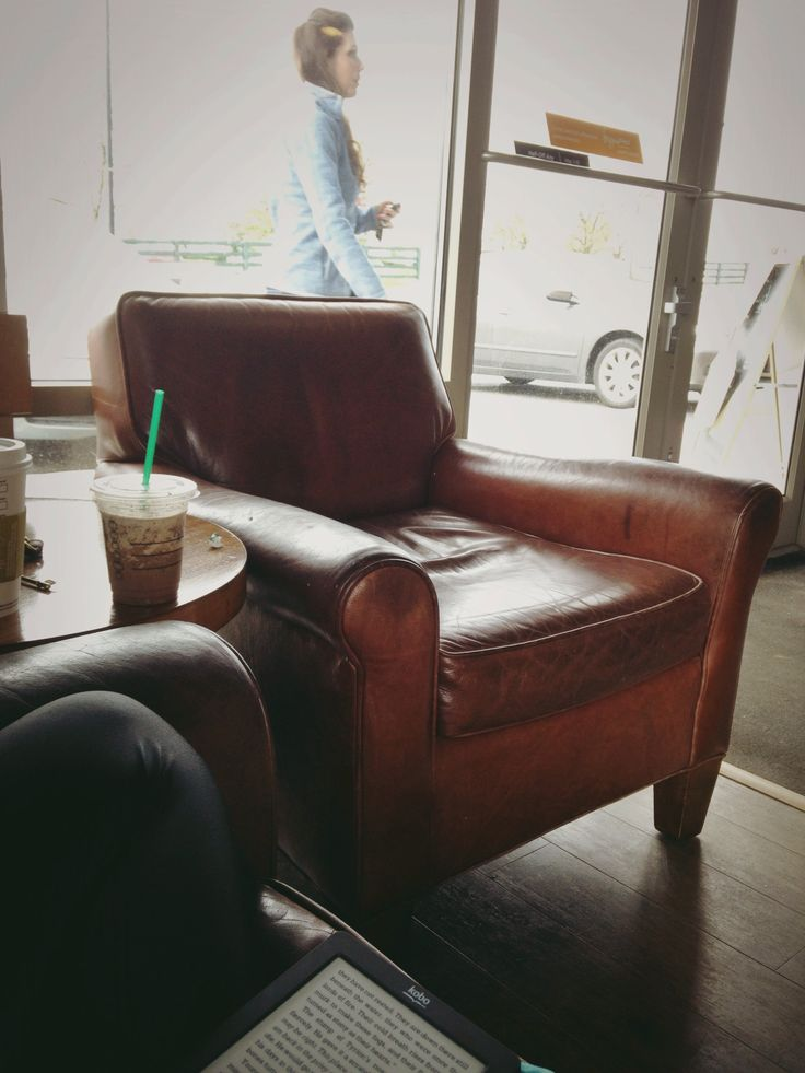 Leather Chair From Starbucks Perfect In Every Way And I