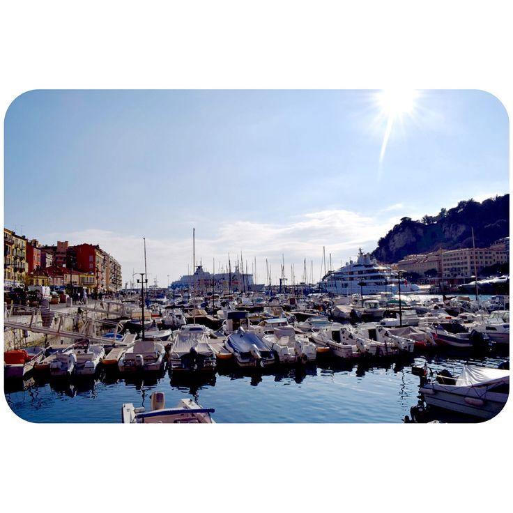 Port de Nice 🛥 France , Cote d'Azur