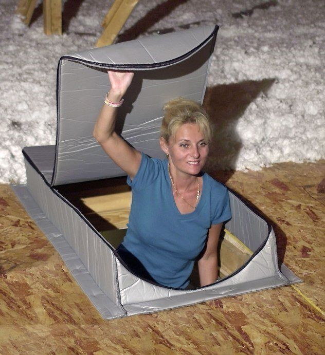 """Attic Tent AT-1 Attic Cover Insulator 22"""" x 54"""" x 7"""""""