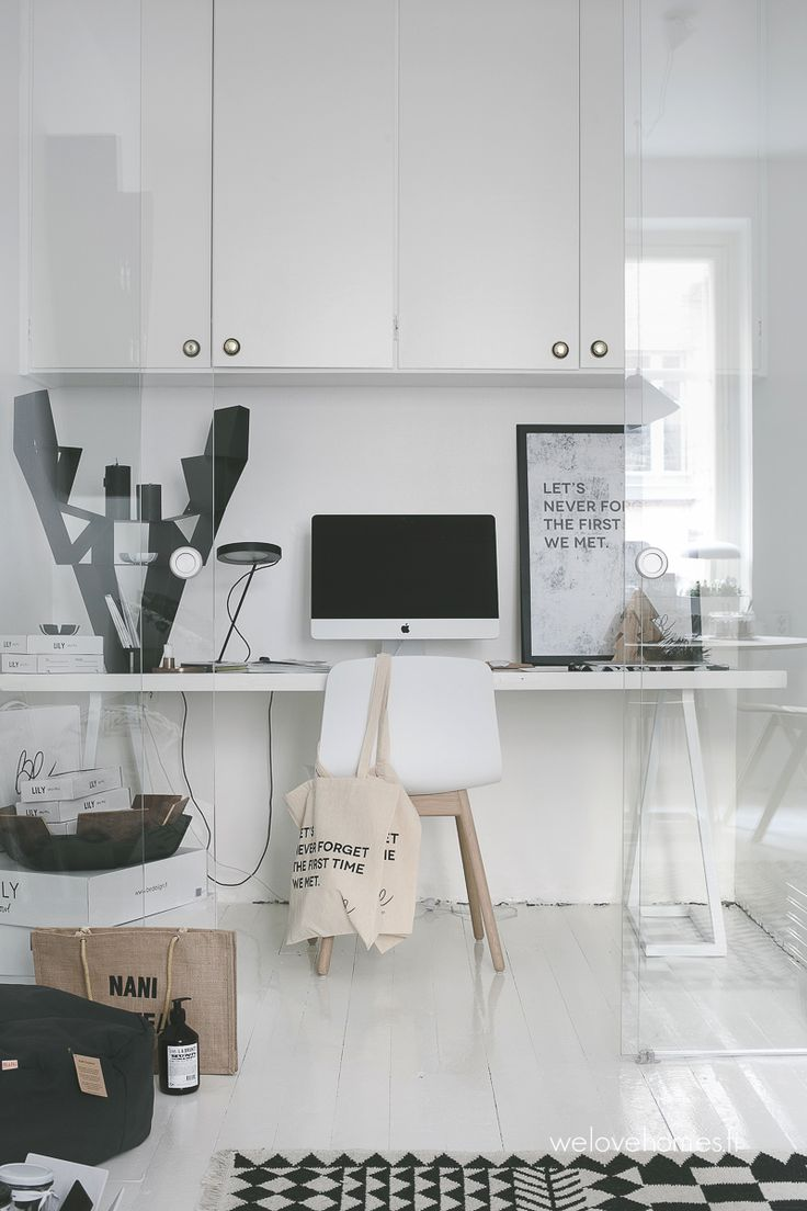 Stylish Home Office | #homeoffice #office #interior #decoration