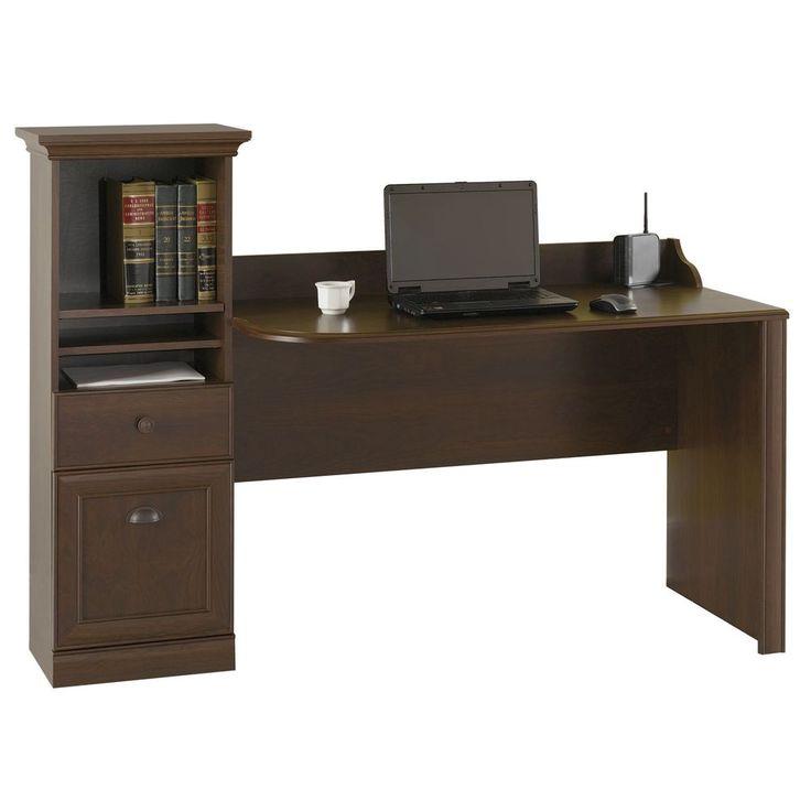 Bush Barton Bing Cherry Computer Workstation Desk