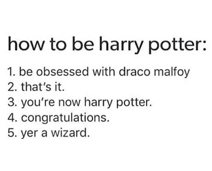 Call me Harry Potter xd Easy #drarry