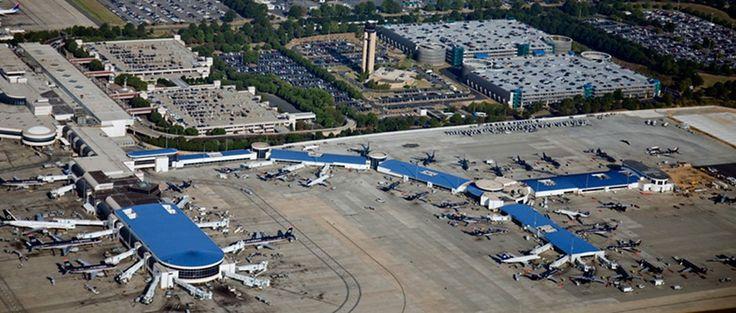 CLT - Charlotte/Douglas International Airport - Charlotte, North Carolina - 2013 & JUNE 1, 2016