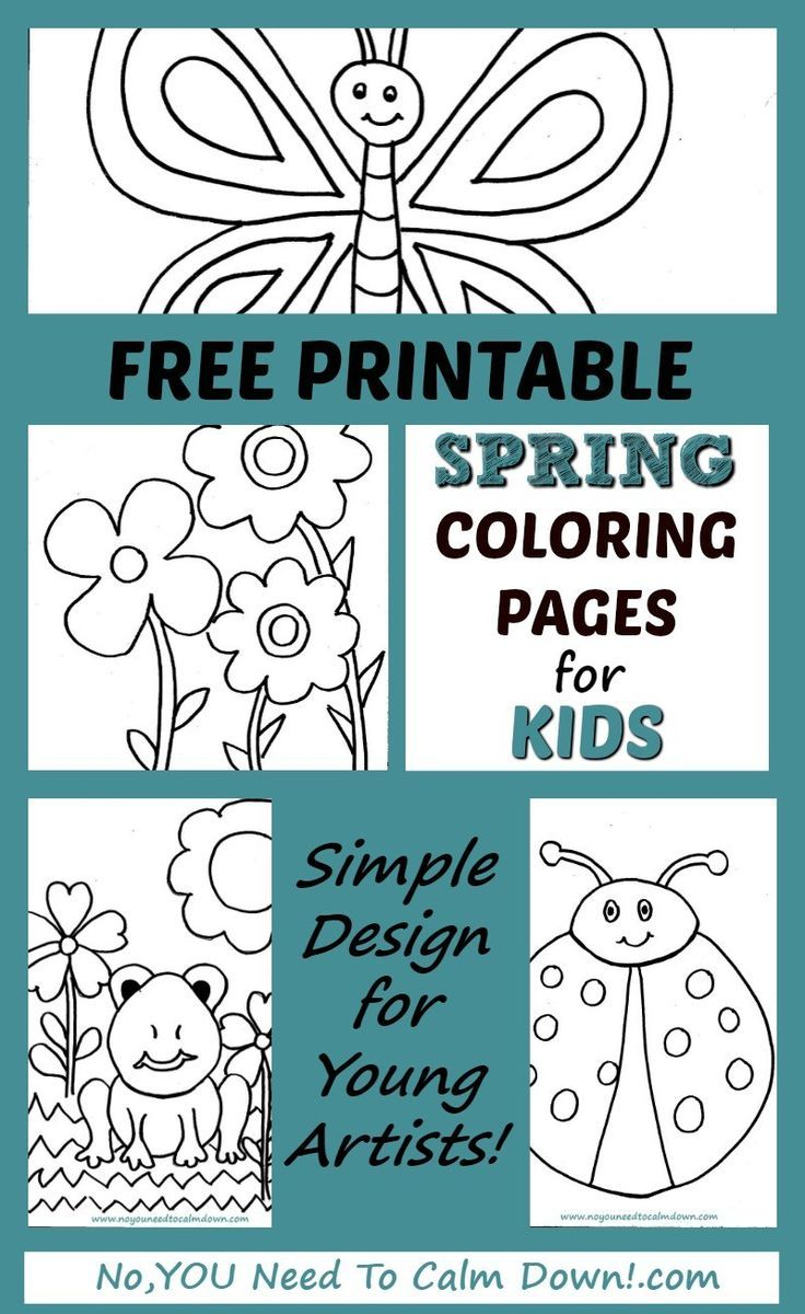 Coloring Pages for Kids - Free Printables | Free printables ...