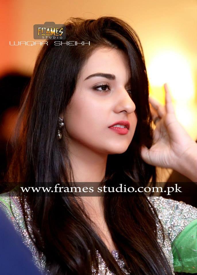 Aiza Khan and Danish Taimoors Mehndi Pictures