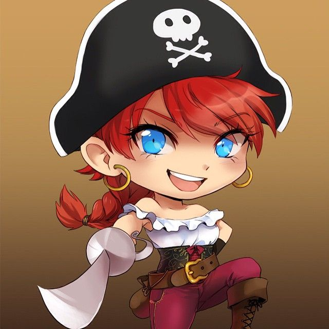Pirate in colour!  Where's my treasure? #pirate #tabletop #fairytale #cardgame #kickstarter