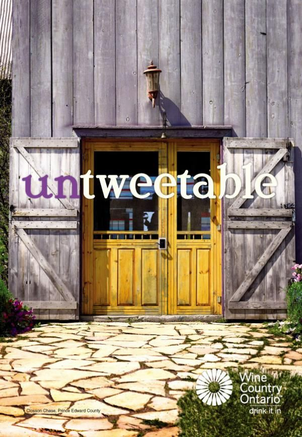 Wine Country Ontario 'Untweetable'