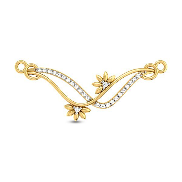 Buy Neha Diamond Mangalsutra Pendant