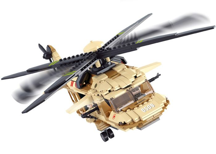 SLUBAN LEGO BLACK HAWK HELICOPTER