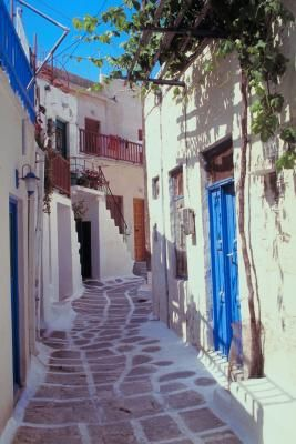 The island of Paros is in the center of the Cyclades islands, to the west of Naxos. Paros presents itself as the picture of a traditional Greek island, with classic Cycladic architecture, fishing ...