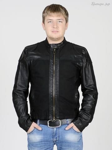 Кожаная куртка armani 9zfhzdfh