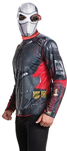 Introducing SUICIDE SQUAD DC UNIVERSE COMICS BATMAN DEADSHOT ADULT KIT SHIRT AND MASK SIZESTANDARD. Get Your Ladies Products Here and follow us for more updates!