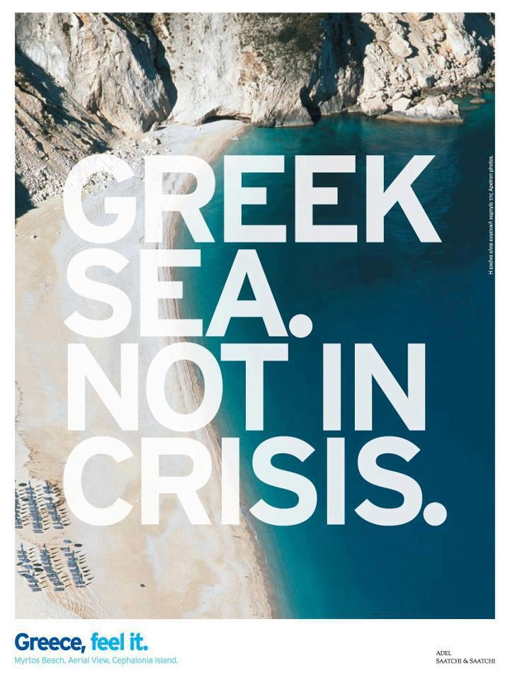 Greek Sea. Not In Crisis