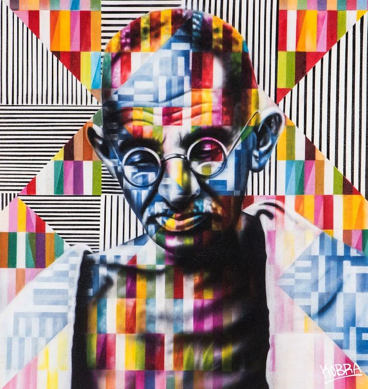 Colorful Solo Show by Fantastic Street Artist Eduardo Kobra #streetart #art