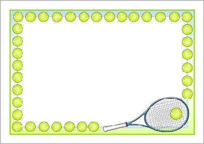 tennis balls frame easy - photo #16