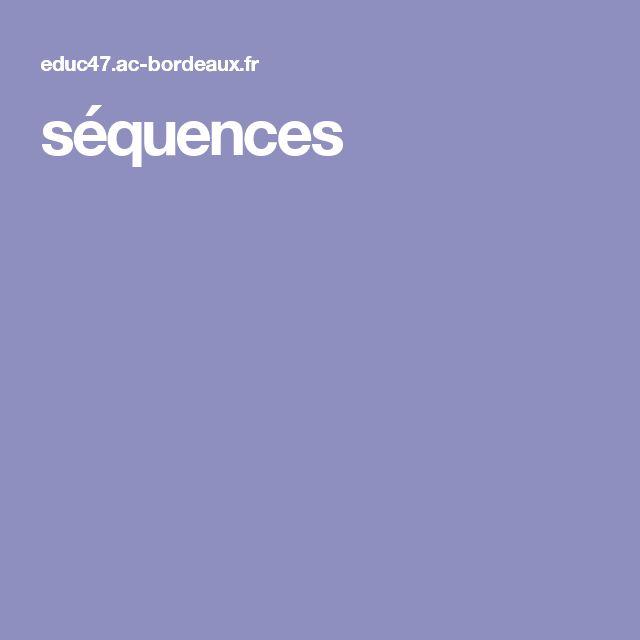 séquences