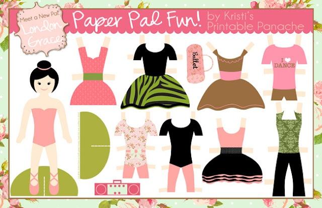 Free Paperdoll Printables