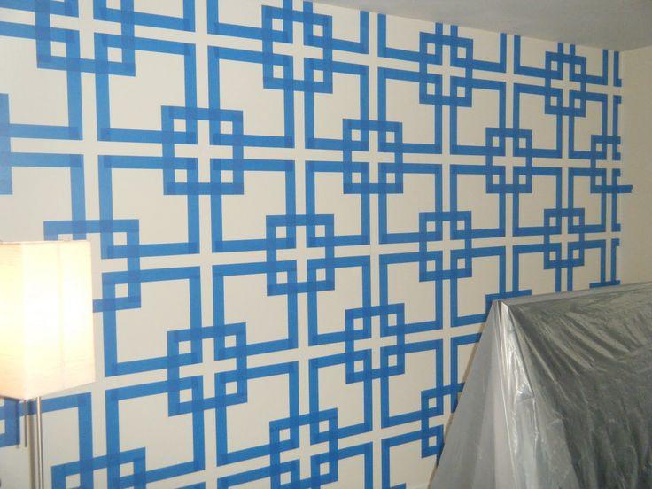 Wall paint techniques