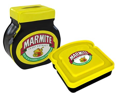 Win a Marmite lunch set - Hot Dinners - LondonHot Dinner, Fab Comp, Stuff Taste, Colours Sets, Lunches Sets, Marmite Lunches, Taste God Aw