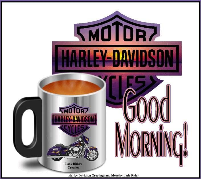 Good morning, Harley Davidson fans... and everyone else!!!