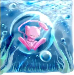 Mew In Bubble Mew And Mewtwo Pinterest Pok 233 Mon