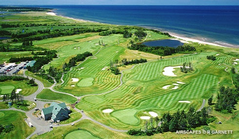 The Links at Crowbush Cove is close to The Inn at St. Peters.