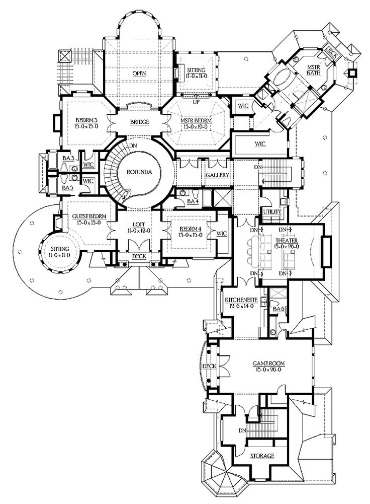 28 best images about floor plan on pinterest luxury for Two story guest house plans