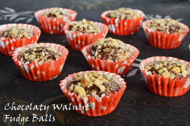 Chocolaty Walnut Fudge Balls – A Brazilian Gourmet Food