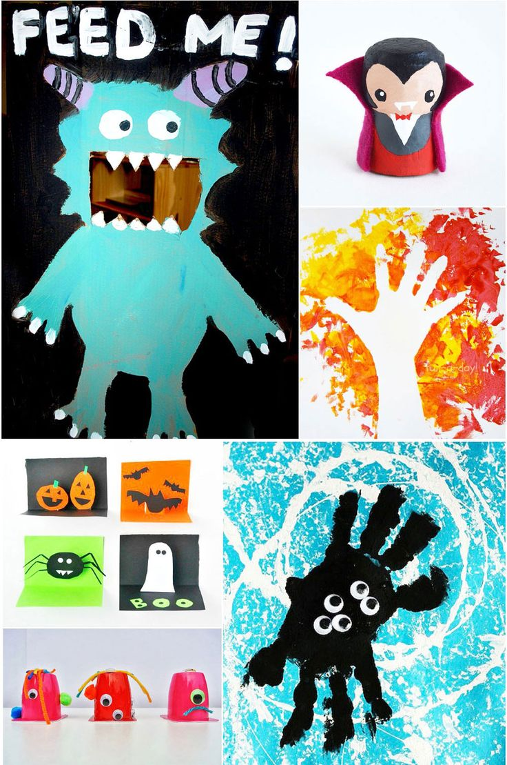 210 great games activities crafts and art projects from the weekly kids co - Halloween Art For Kindergarten