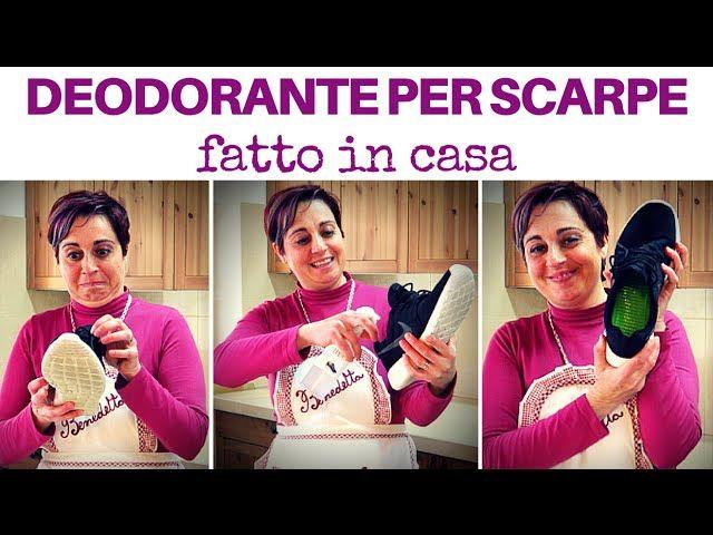 come fare il deodorante disinfettante per scarpe che elimina i cattivi odori e previene la formazione di funghi e batteri per scarpe fresche e pulite