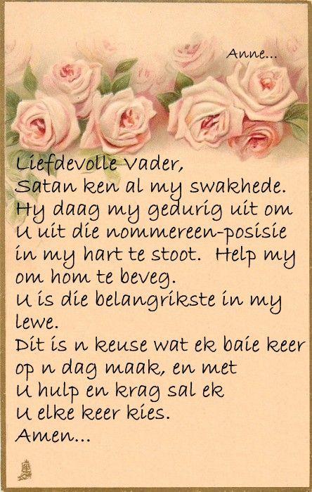 Gebed vir myself... #Afrikaans #Prayer #2bMe