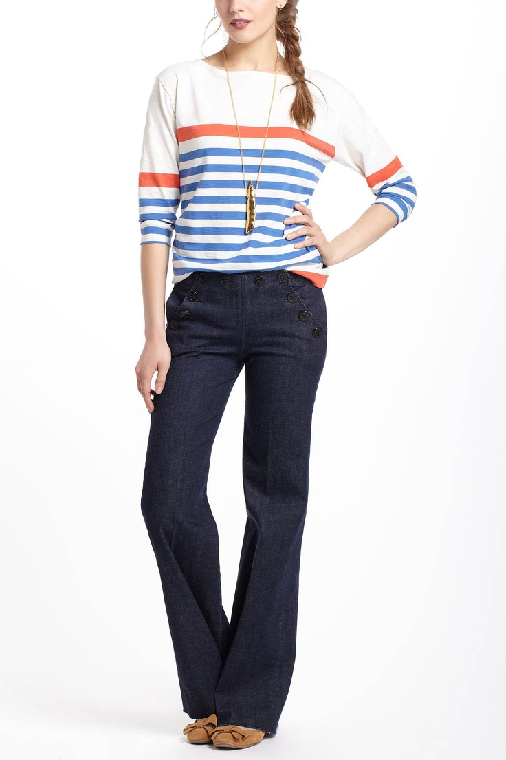 MiH Valencia Trouser / Anthropologie.comFashion Shoes, Outfit Ideas, Style Inspiration, Anthropologiecom Super, Cute Outfits, Citrus Boatneck, Anthropologie Com, Valencia Trousers, Mih Valencia