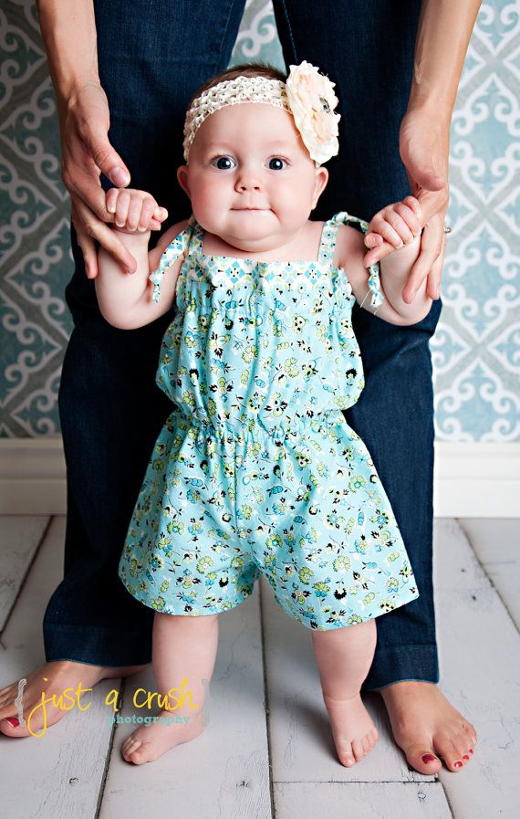 Oh my goodness, what an adorable  romper pattern! I *will* be making these for the girls this summer!