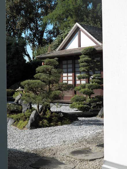 Die besten 25+ Asiatischer garten Ideen auf Pinterest Japanische - vorgarten gestalten asiatisch