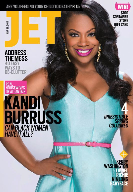 Kandi Burruss Covers JET Magazine- http://getmybuzzup.com/wp-content/uploads/2014/03/263208-thumb.jpg- http://getmybuzzup.com/kandi-burruss-covers-jet-magazine/- By Celeb Editor Real Housewives of Atlanta star Kandi Burruss covers JET magazine issue. Unlike many reality stars, the 37-year-old isn't brash and boastful about her millionaire status. Instead of highlighting how to blow a fortune, this all-grown-up girl next door proved she had two...- #JETMagazine, #KandiBu