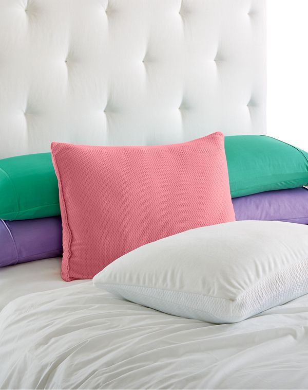 The key to a perfect slumber for every kind of sleeper is Joy Mangano's Memory Cloud Pillow. Breathable, moisture-wicking and hypoallergenic material in a specially designed shape make catching some zzzz's easier than ever.