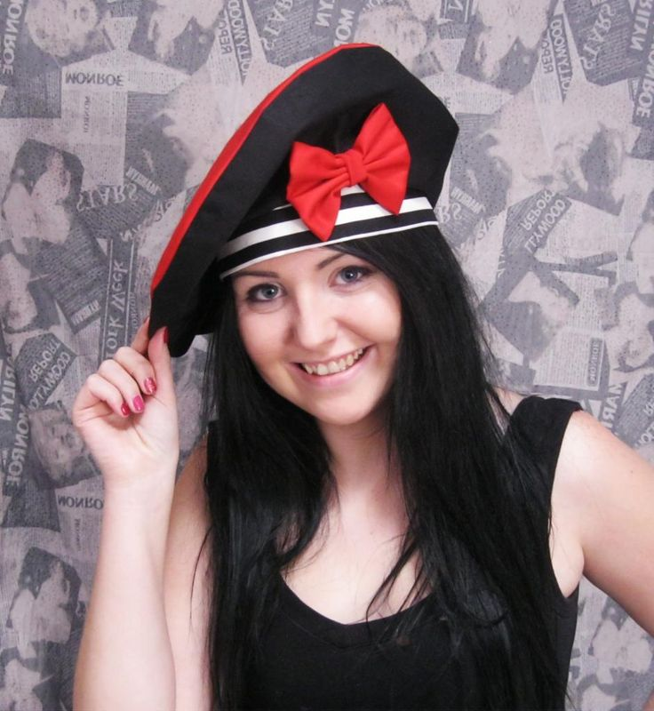 My beret which I made this year...
