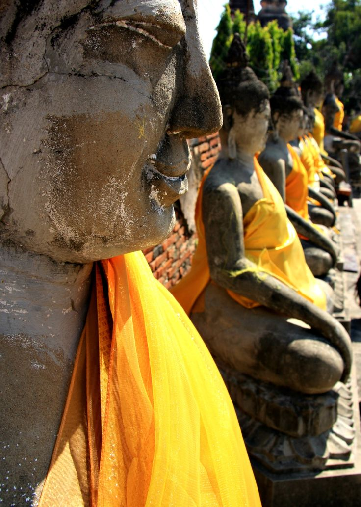 Phra Nakhon Si Ayutthaya - the ancient city in the province of Ayutthaya, Thailand Copyright: Chantelle Boduel