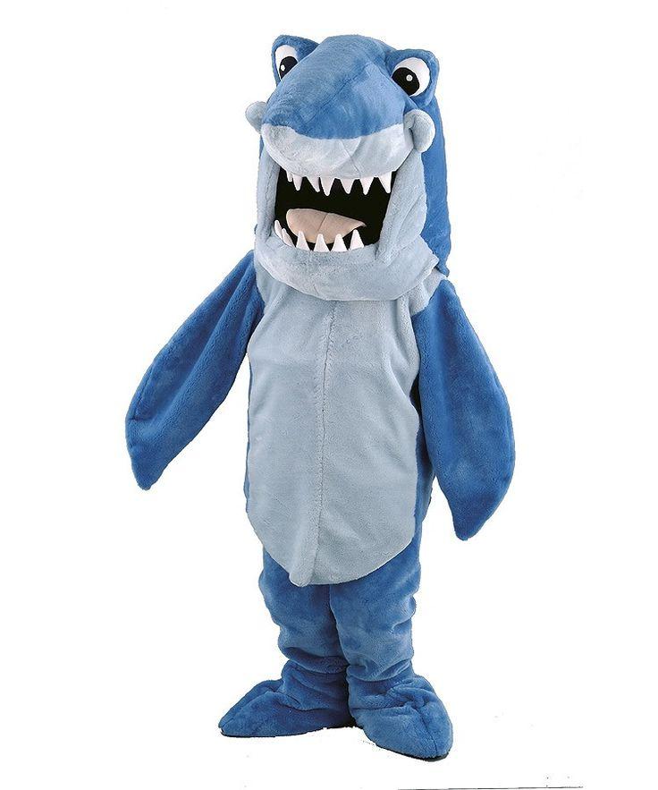 107b Hai Kostüme: Kostüm Maskottchen Hai günstig kaufen oder verleih auf www.Maskottchen24.de