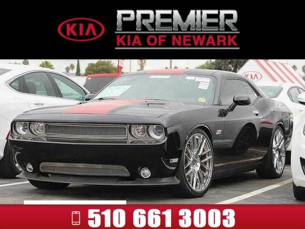 *2012* *Dodge Challenger* *SRT8 392* Black