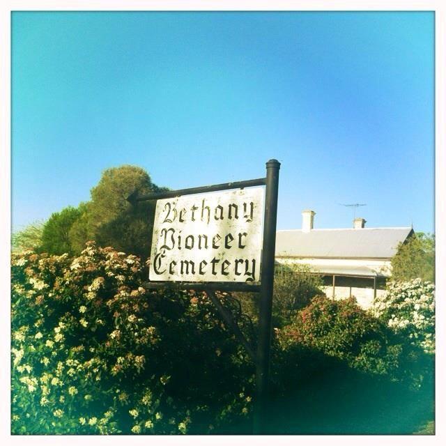 Bethany Pioneer Cemetery.