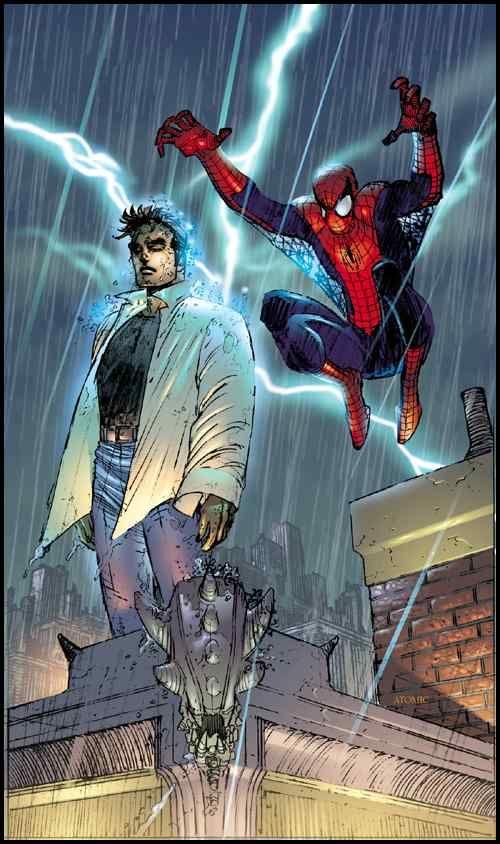 Spider-man by Jhon Romita Jr.