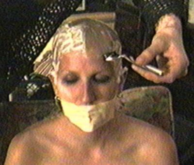 Head shaved punishment