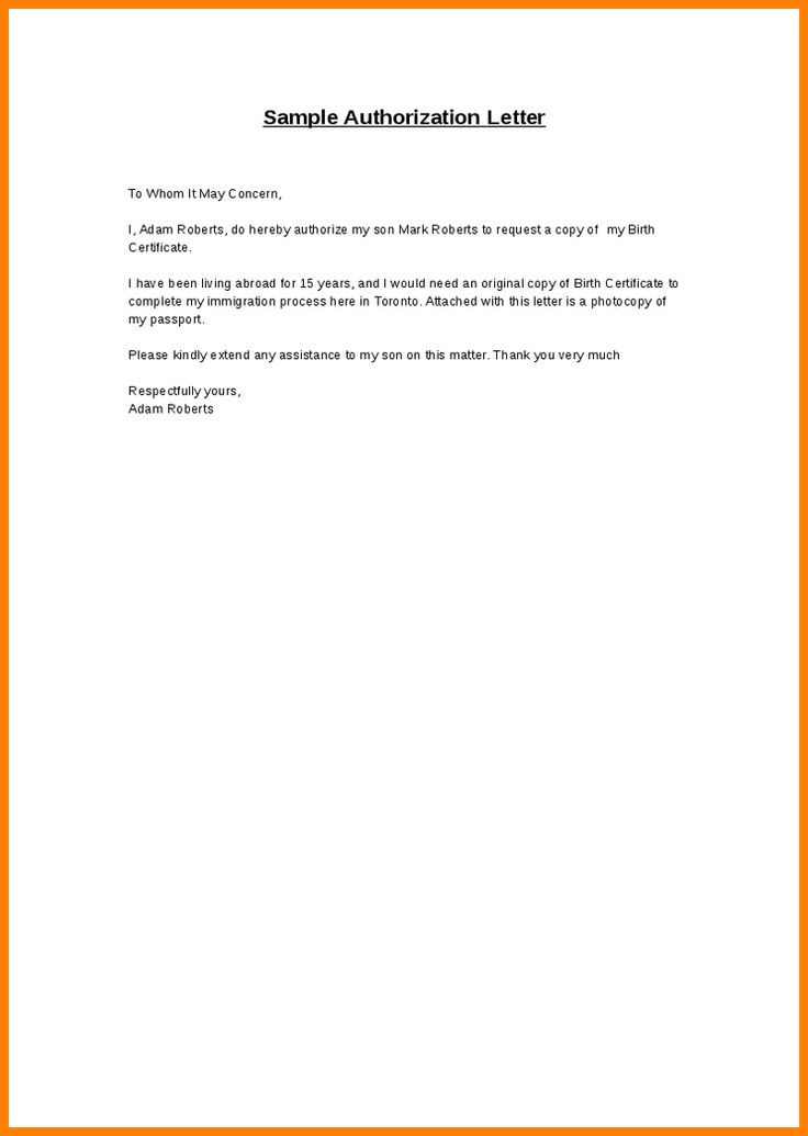 Authorization Letter Sample For Claiming Proffesional Cover Template Amusing
