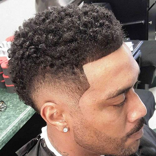 Pin En Black Men Haircuts