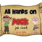 This is a pirate themed classroom job chart. Jobs included are:Line LeaderDoor HolderLightsSoap SquirterTeacher HelperPaper PasserSubstitut...